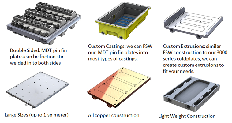 Examples of Custom Cold Plates