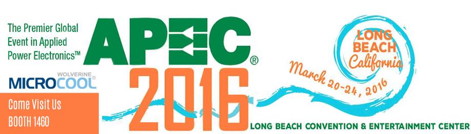 Visit MicroCool at APEC 2016