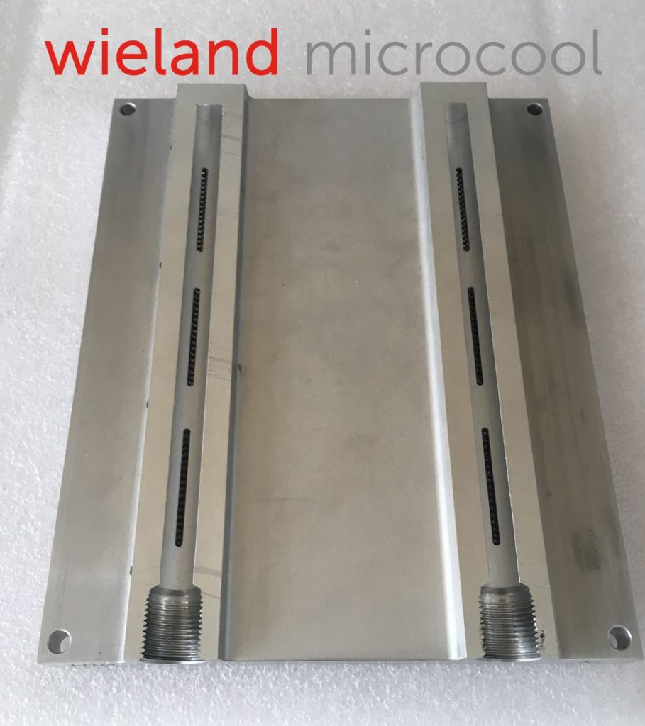 liquid cooling manifold coldplate